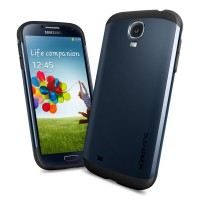 Чехол для Galaxy S4 Case Slim Armor Темно-синий