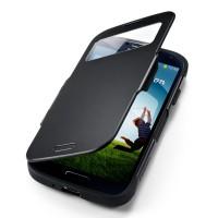 Чехол для Galaxy S4 Case Slim Armor View Черный