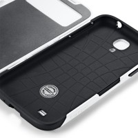 Чехол для Galaxy S4 Case Slim Armor View Белый