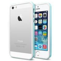 Чехол для iPhone 5S / 5 Case Neo Hybrid EX Slim Snow Голубой