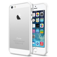 Чехол для iPhone 5S / 5 Case Neo Hybrid EX Slim Snow Белый