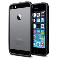 Чехол для iPhone 5S / 5 Case Neo Hybrid EX Slim Vivid Черный