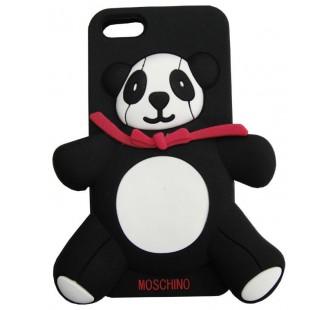Чехол для iPhone 5/5s Панда Moschino Panda Bear