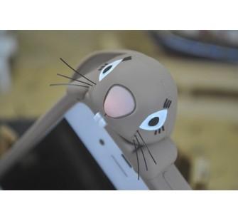 Чехол для iPhone 5/5s  Кролик Moschino Violetta Rabbit Коричневый