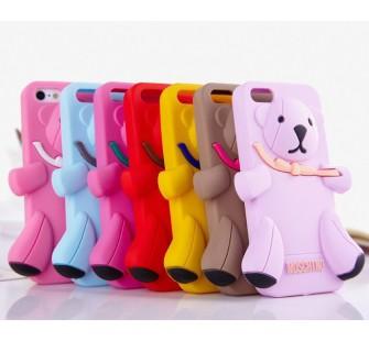 Чехол для iPhone 5 Медведь Moschino Bear Желтый