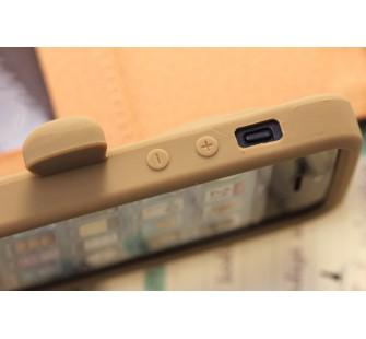 Чехол для iPhone 5 Медведь Moschino Bear Коричневый
